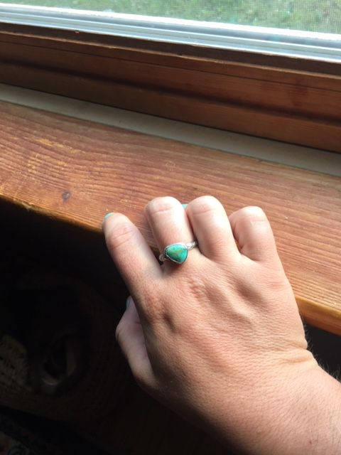 Turquoise Rings - image 2 - student project