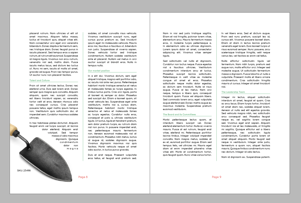 InDesign Practice - image 12 - student project