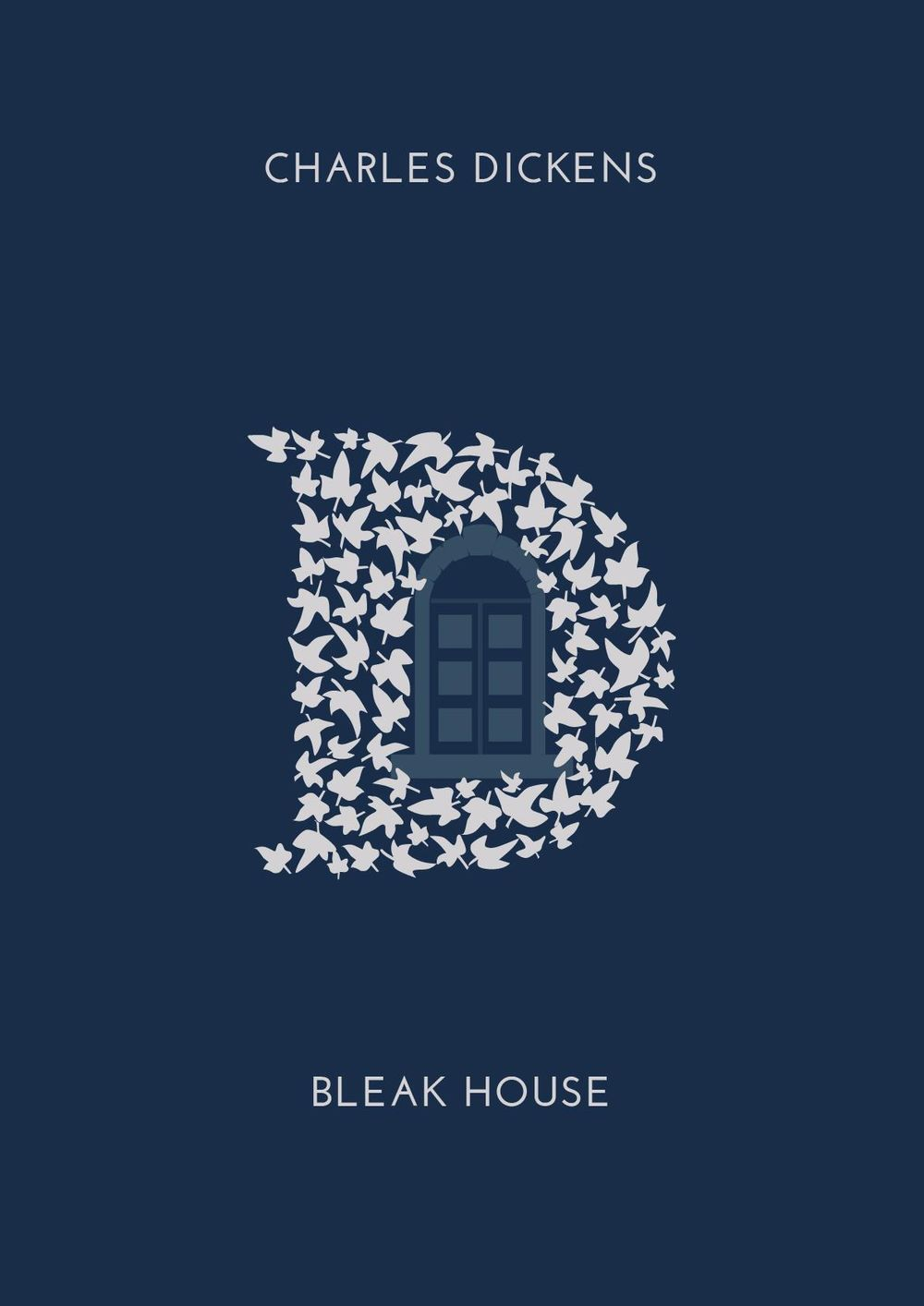 Book Cover for 'Bleak House' of Charles Dickens - image 3 - student project