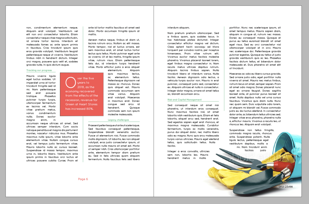InDesign Practice - image 10 - student project