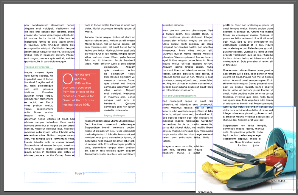 InDesign Practice - image 9 - student project