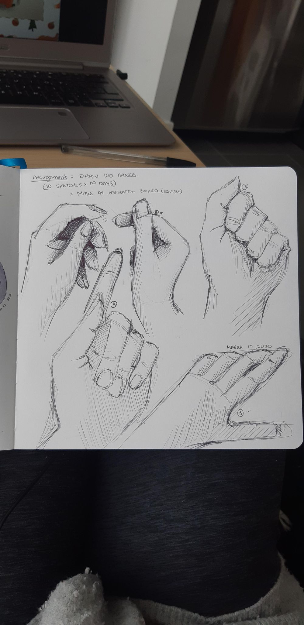 100 Hand Sketches - image 1 - student project
