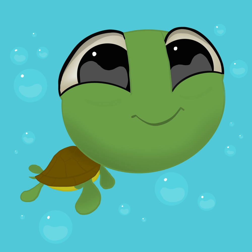 Chewy the Baby Sea Turtle - image 3 - student project