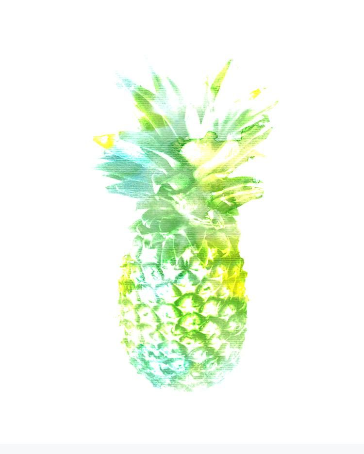 Playful play with prickly pineapples... :D - image 1 - student project
