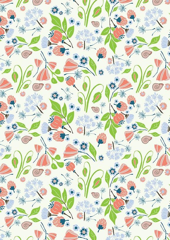 Illustrator: Surface pattern design - image 3 - student project