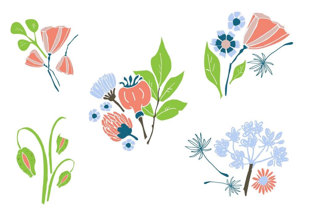 Illustrator: Surface pattern design - image 2 - student project