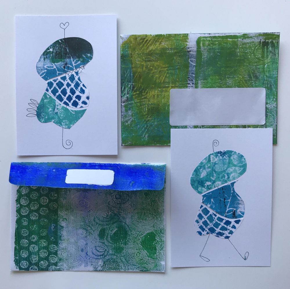 Stamp, print, roll and big fun. - image 6 - student project