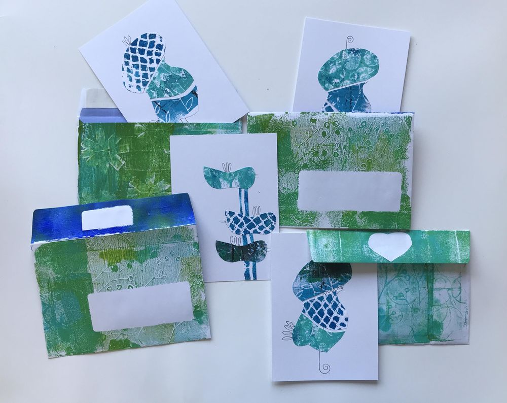 Stamp, print, roll and big fun. - image 7 - student project