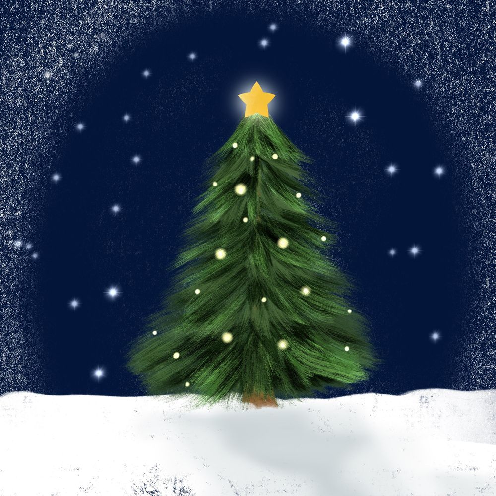 Winter and Christmas daily art - image 6 - student project