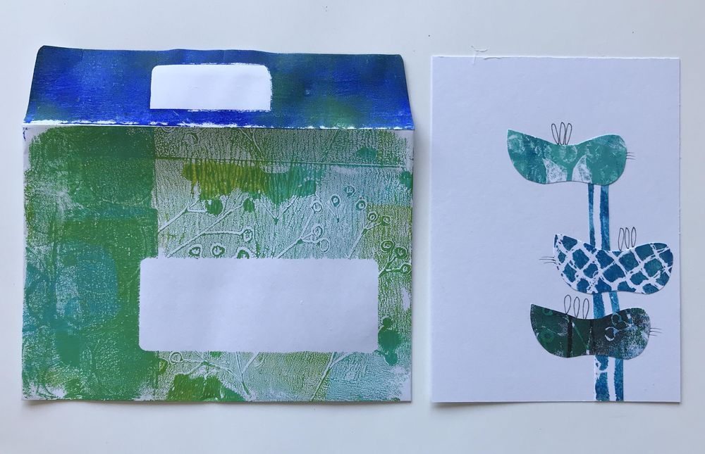 Stamp, print, roll and big fun. - image 8 - student project