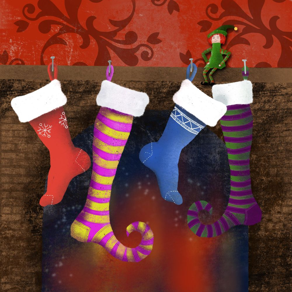 Winter and Christmas daily art - image 5 - student project