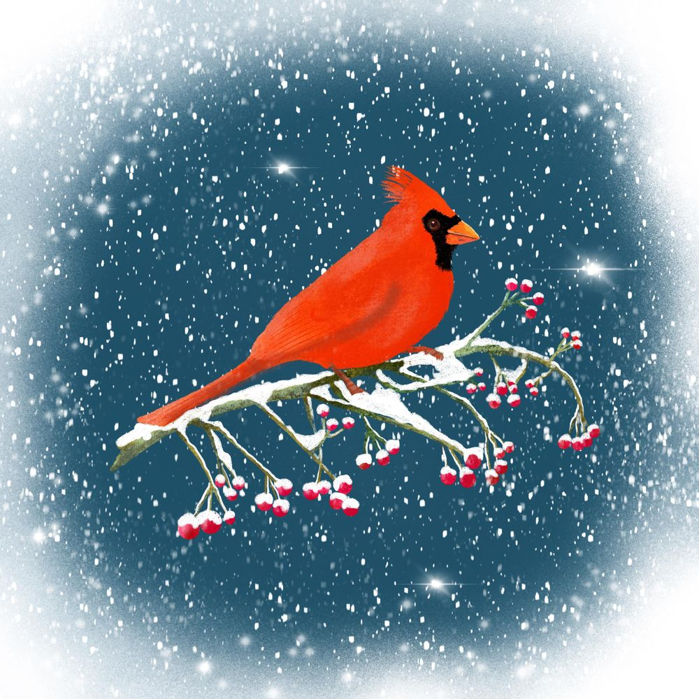 Winter and Christmas daily art - image 22 - student project