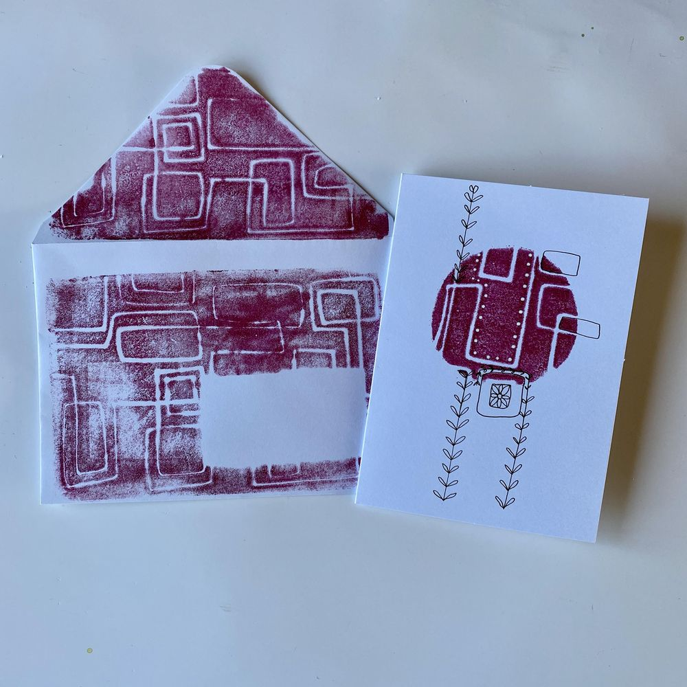 Stamp, print, roll and big fun. - image 4 - student project