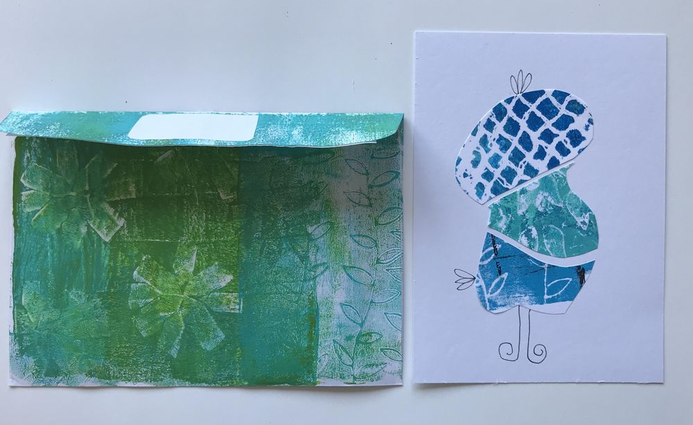Stamp, print, roll and big fun. - image 5 - student project