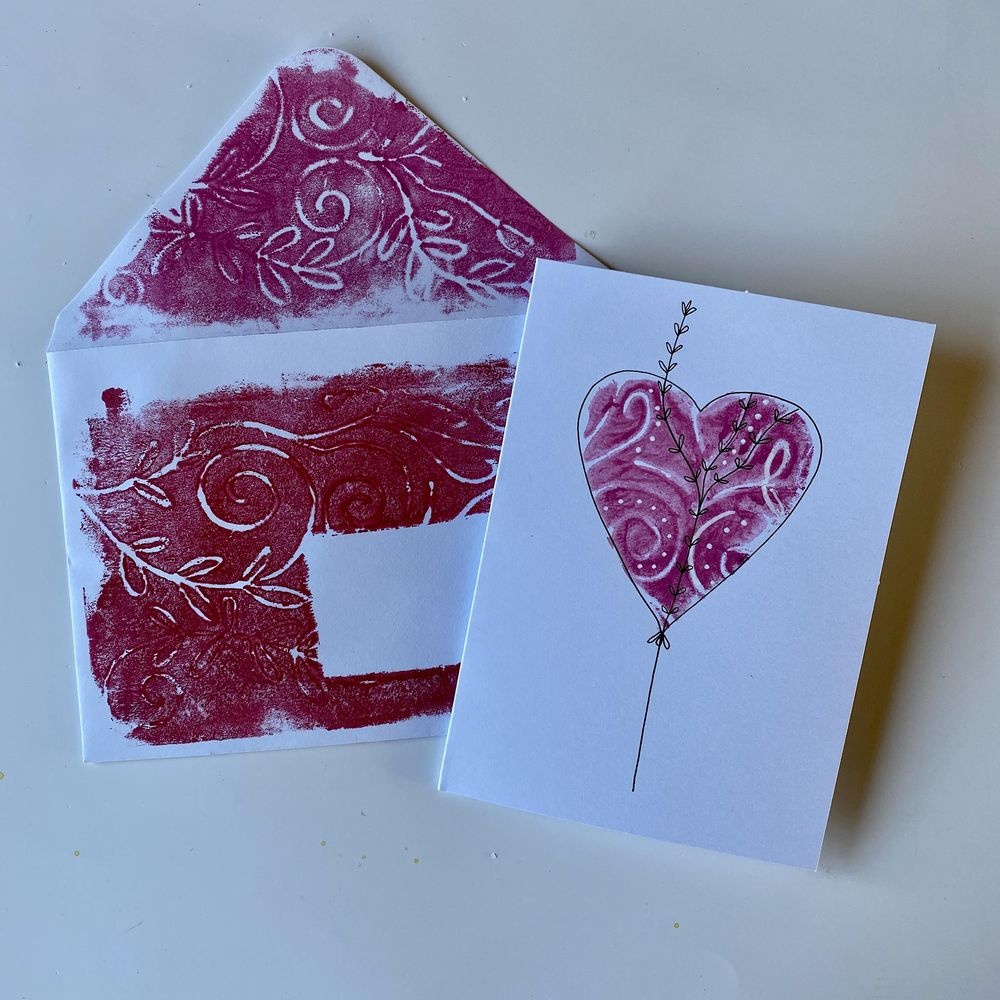 Stamp, print, roll and big fun. - image 2 - student project