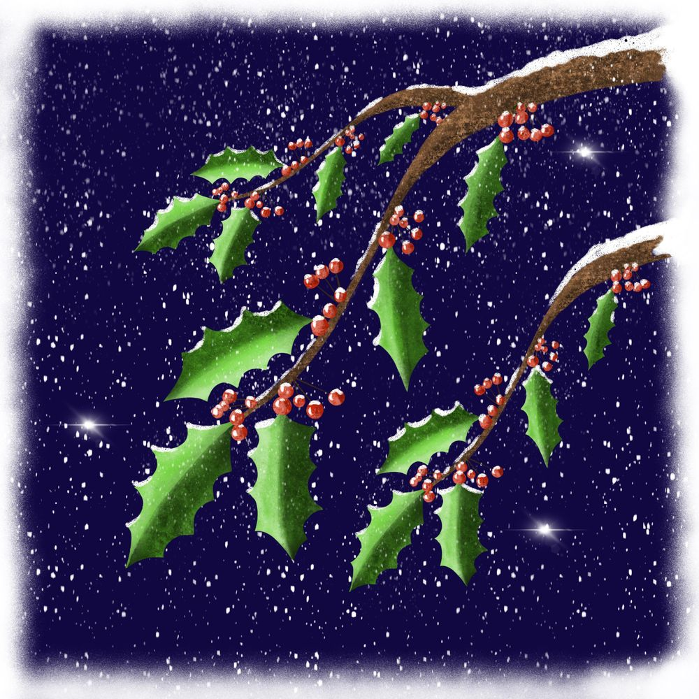 Winter and Christmas daily art - image 16 - student project