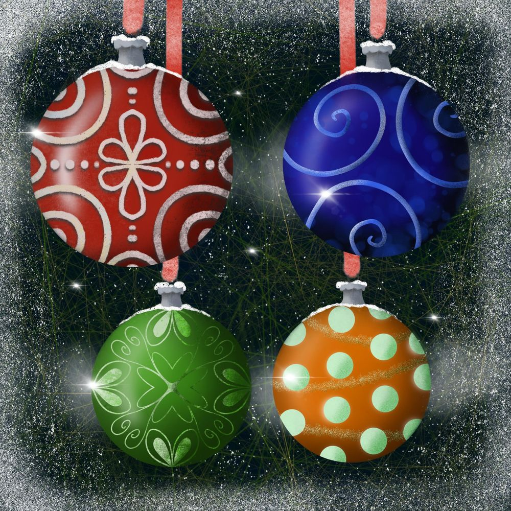 Winter and Christmas daily art - image 4 - student project