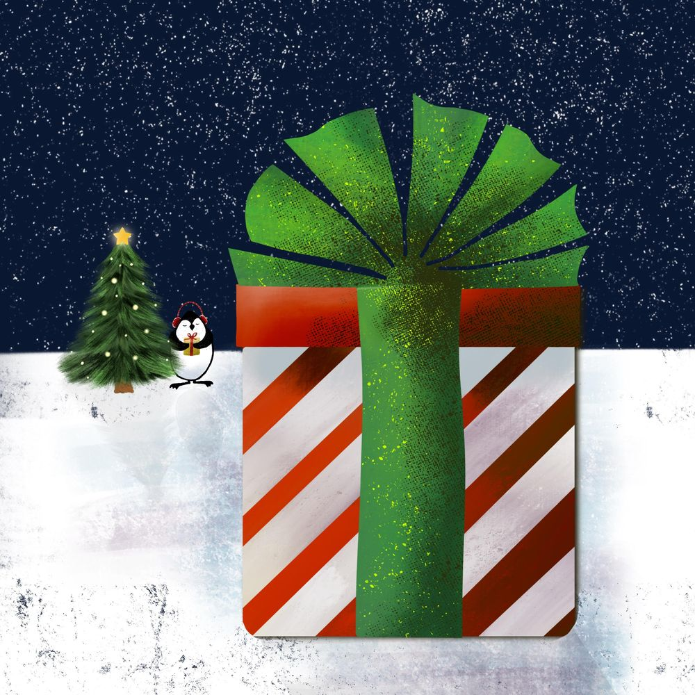 Winter and Christmas daily art - image 3 - student project