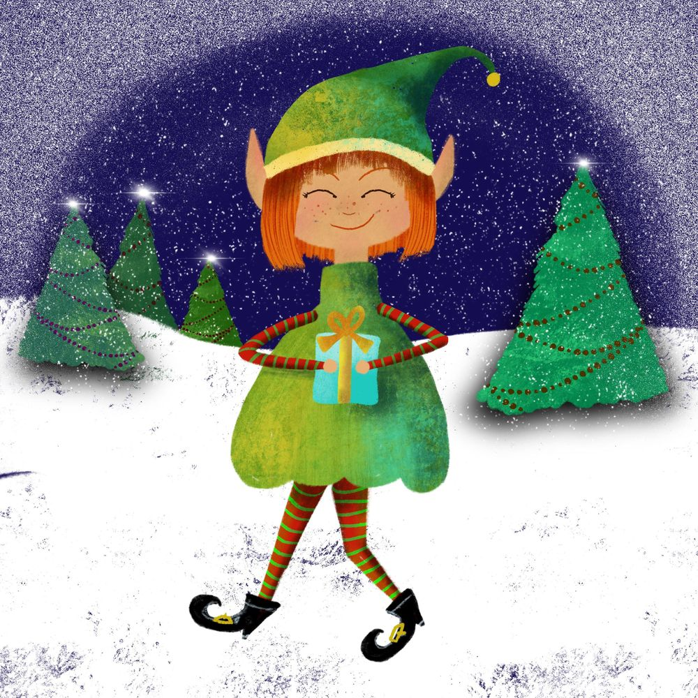Winter and Christmas daily art - image 11 - student project