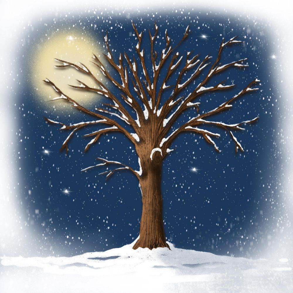 Winter and Christmas daily art - image 23 - student project