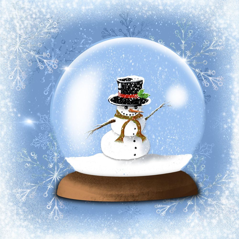 Winter and Christmas daily art - image 20 - student project