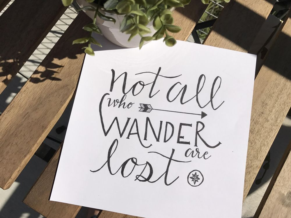 Not All Who Wander - image 1 - student project