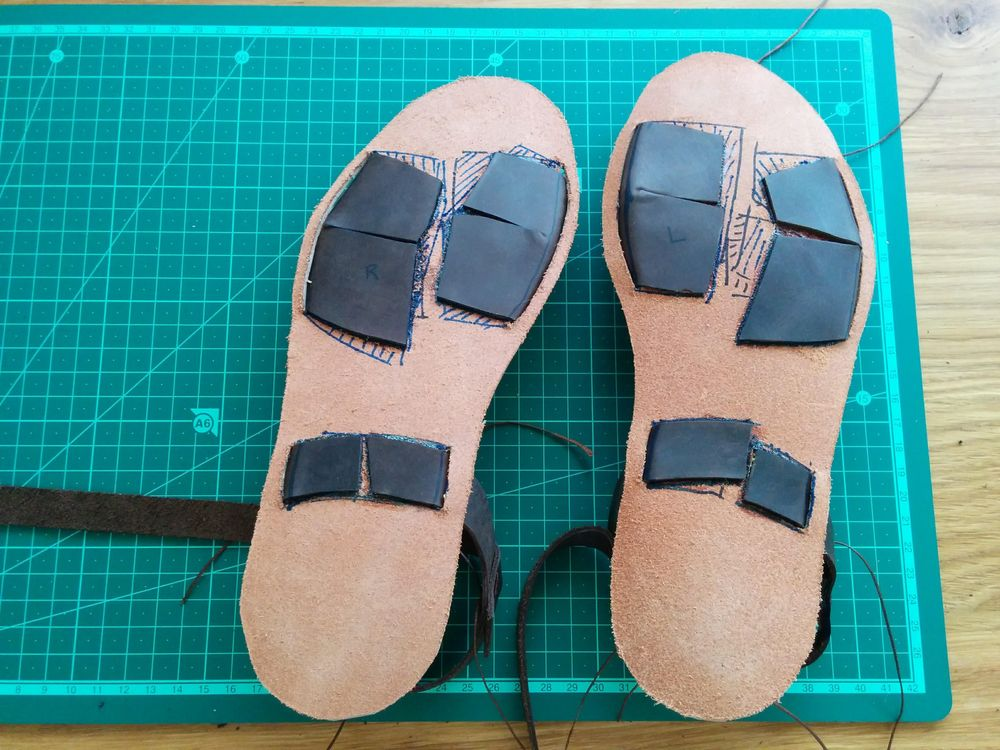 My Brown Sandals - image 3 - student project