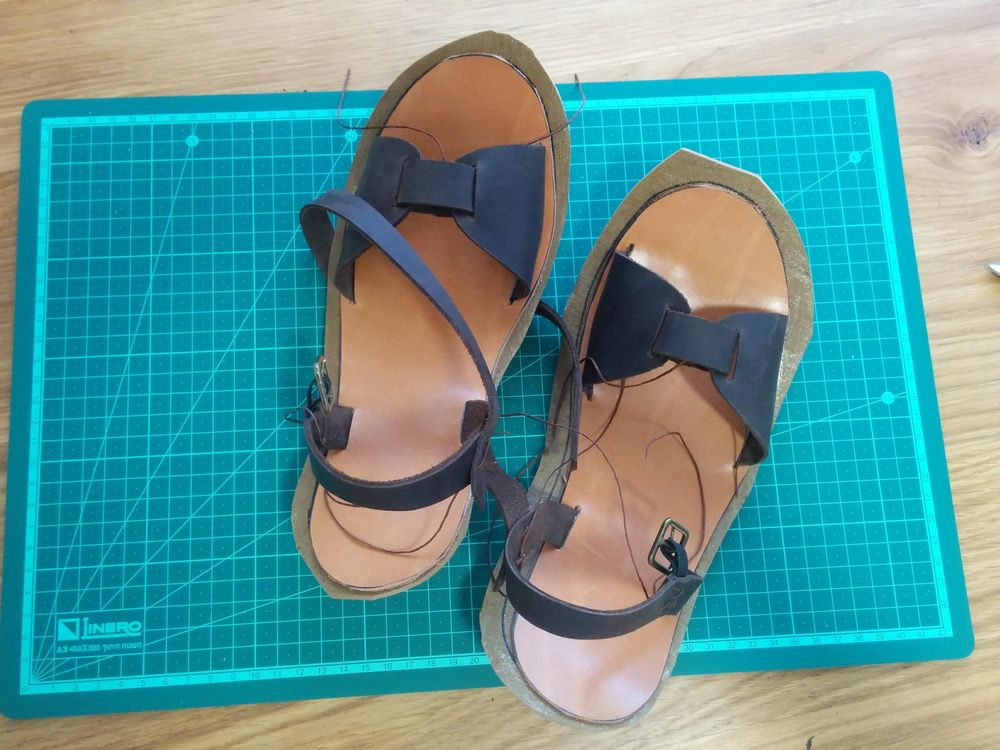 My Brown Sandals - image 4 - student project