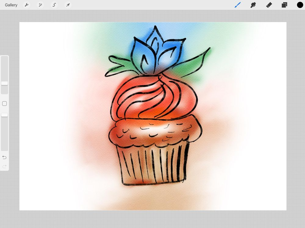trying the same technique on my iPad :)  - image 1 - student project