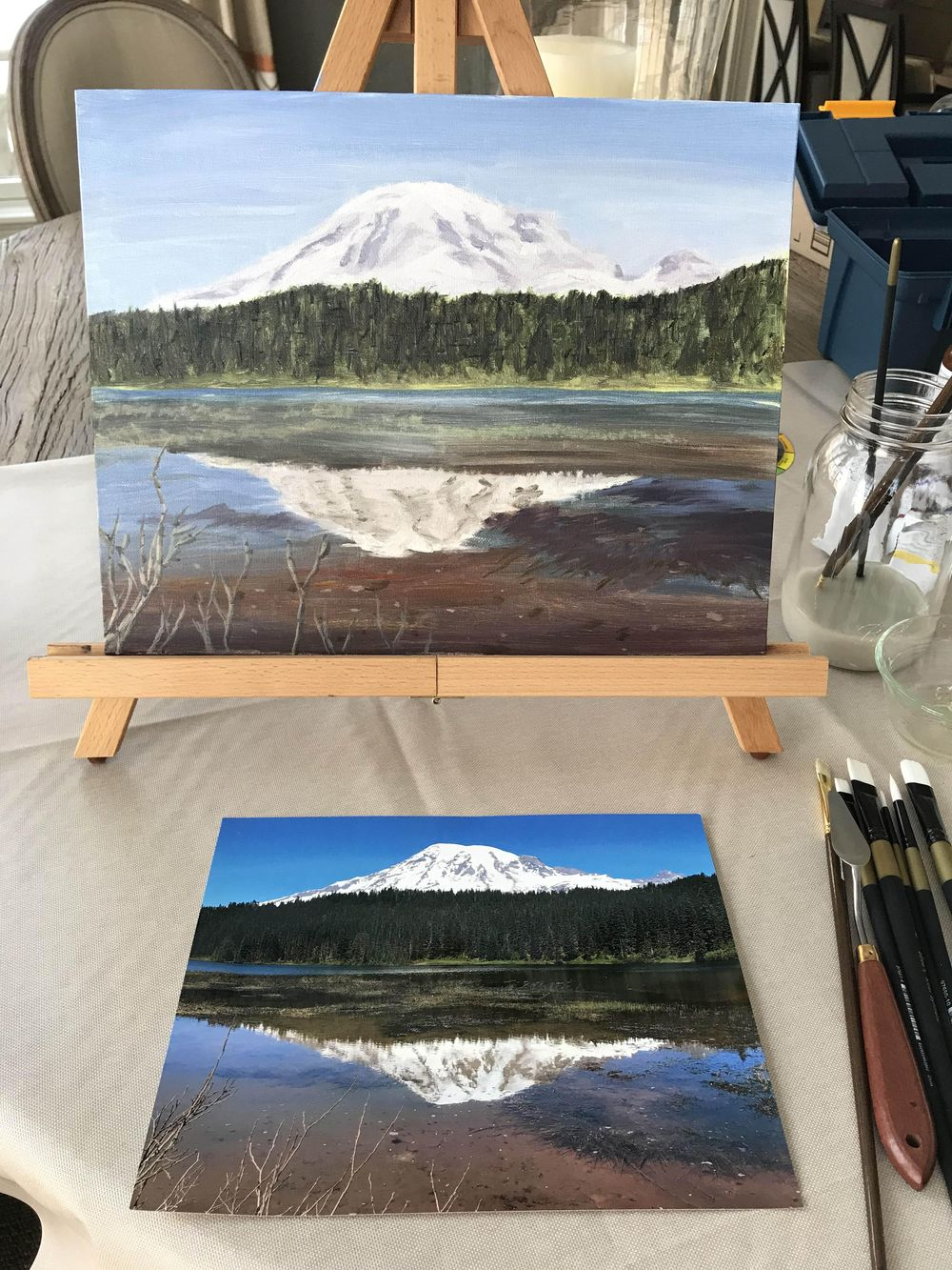 Mt. Rainier - image 1 - student project