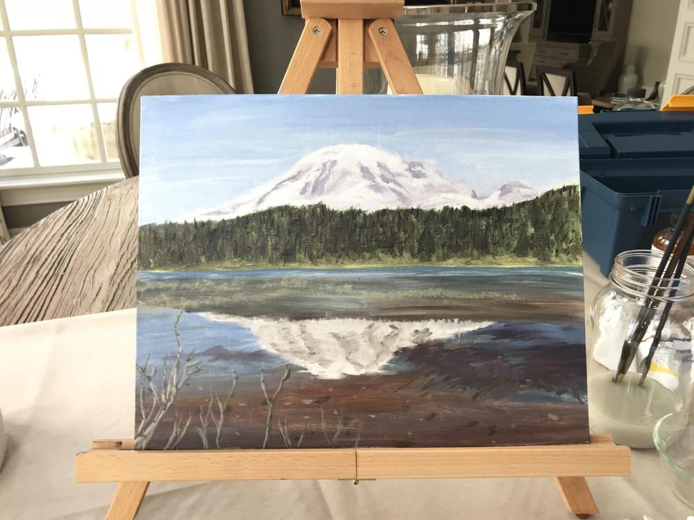 Mt. Rainier - image 2 - student project