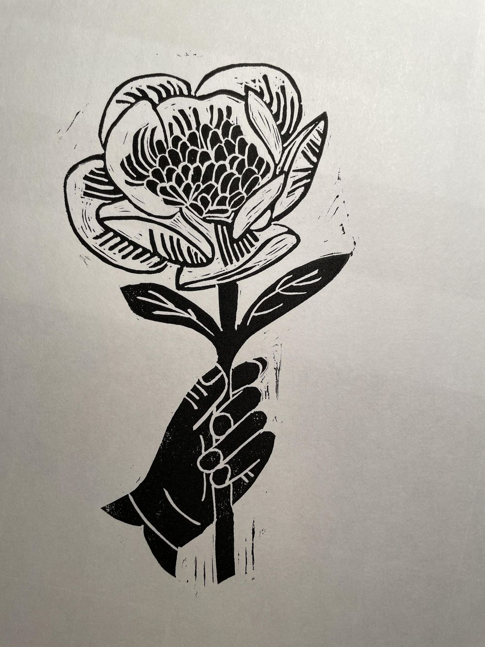 First block print! - image 3 - student project