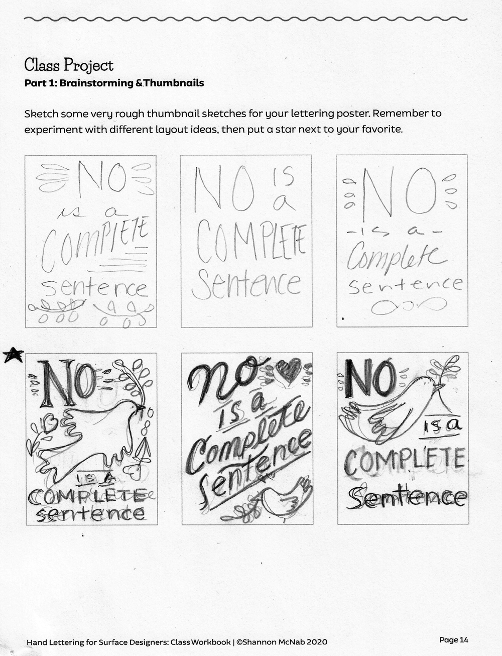 No is a Complete Sentence - image 1 - student project