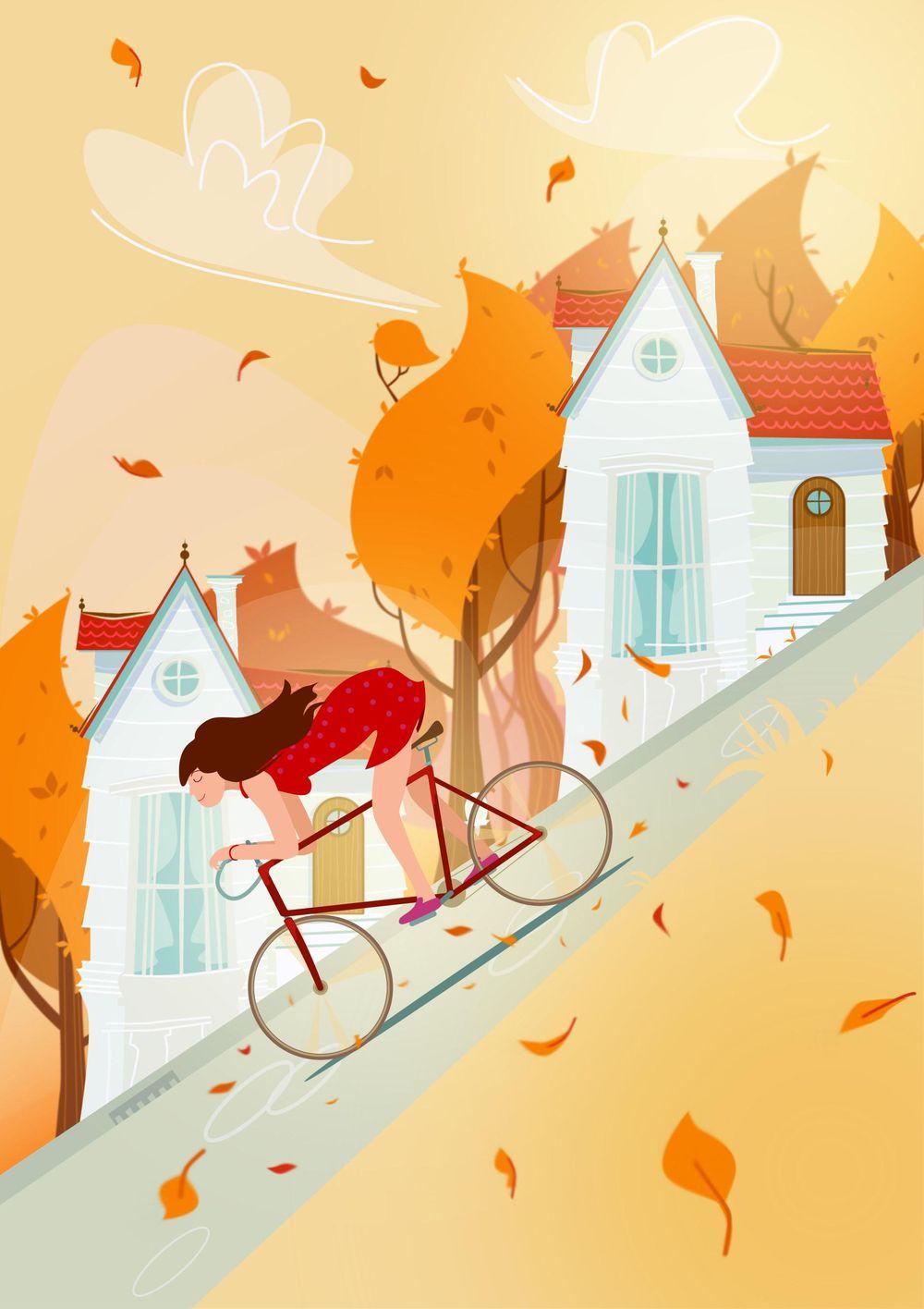 Slope Illustration - image 3 - student project