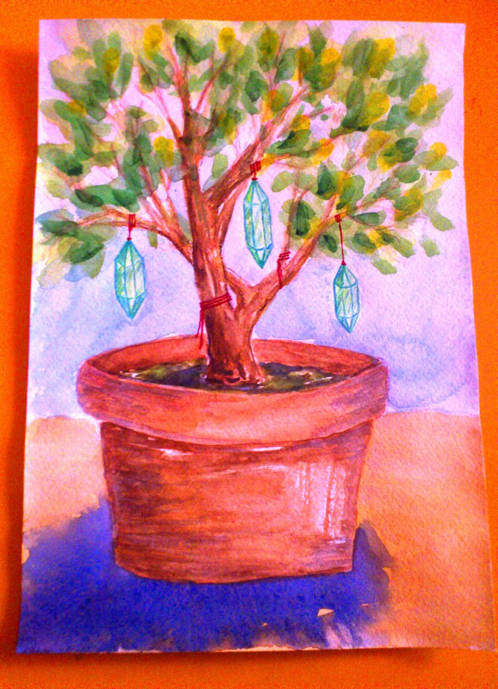 Crystals and happy tree. - image 7 - student project