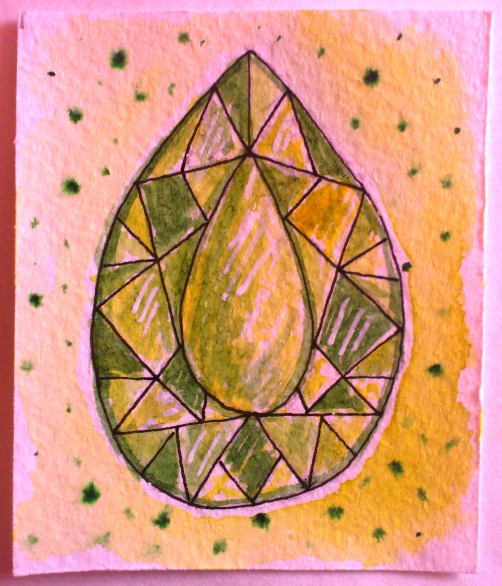 Crystals and happy tree. - image 6 - student project