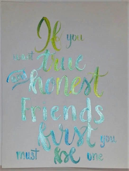 Friendship quote - image 1 - student project