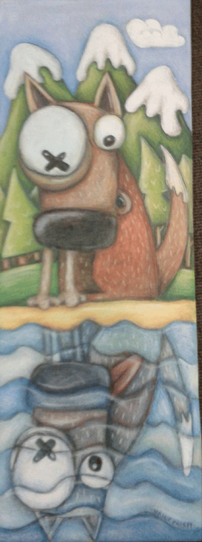 Hairy Phish Mug - image 6 - student project