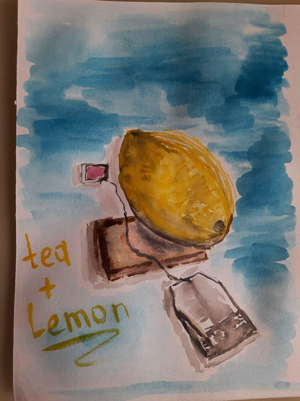 My first try with watercolor - image 4 - student project