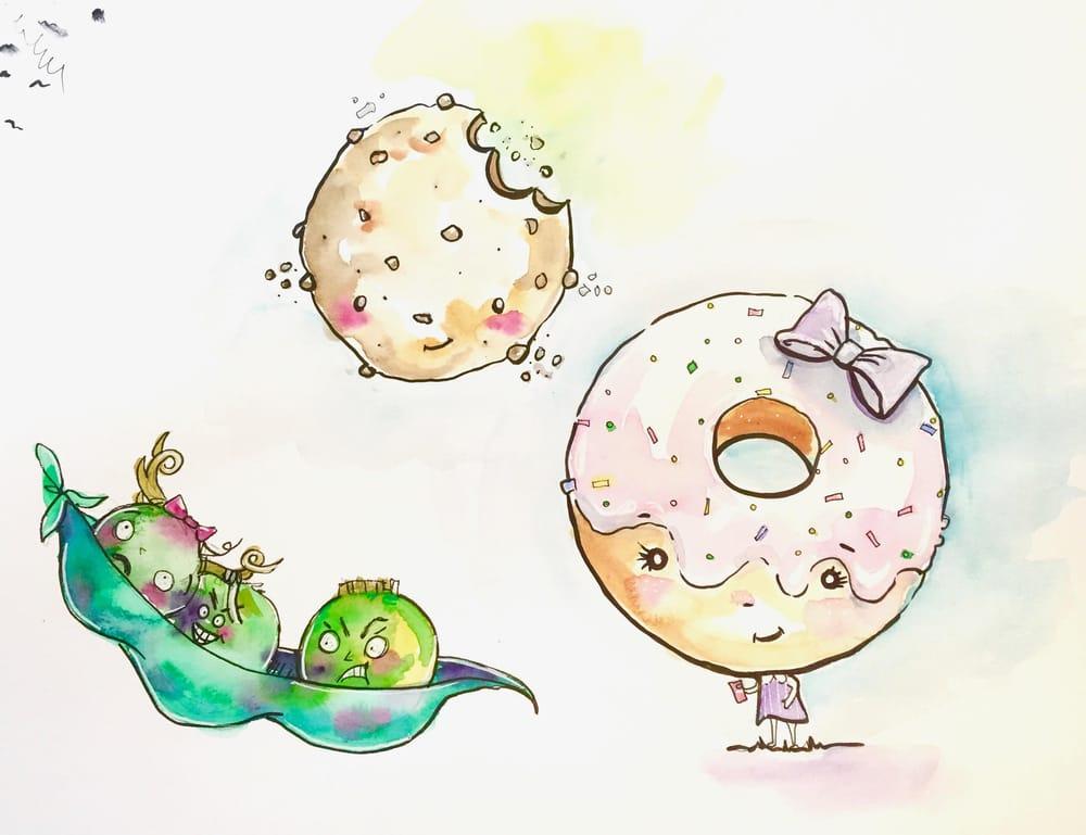 First Food Cuties, fun stuff! - image 1 - student project