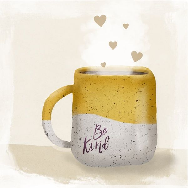 Drink coffee and be kind! - image 1 - student project