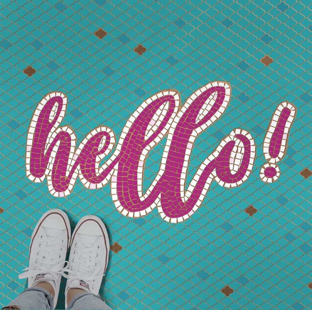 Hello! Fauxsaics - image 1 - student project