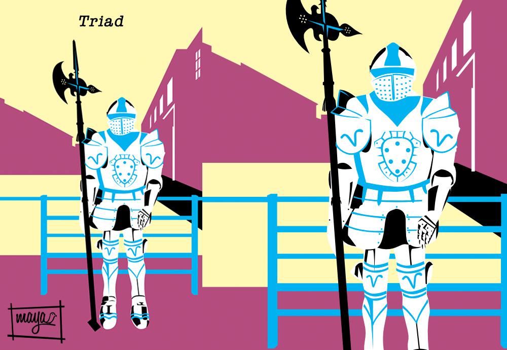 Knight's Armor of Rhodes - image 2 - student project