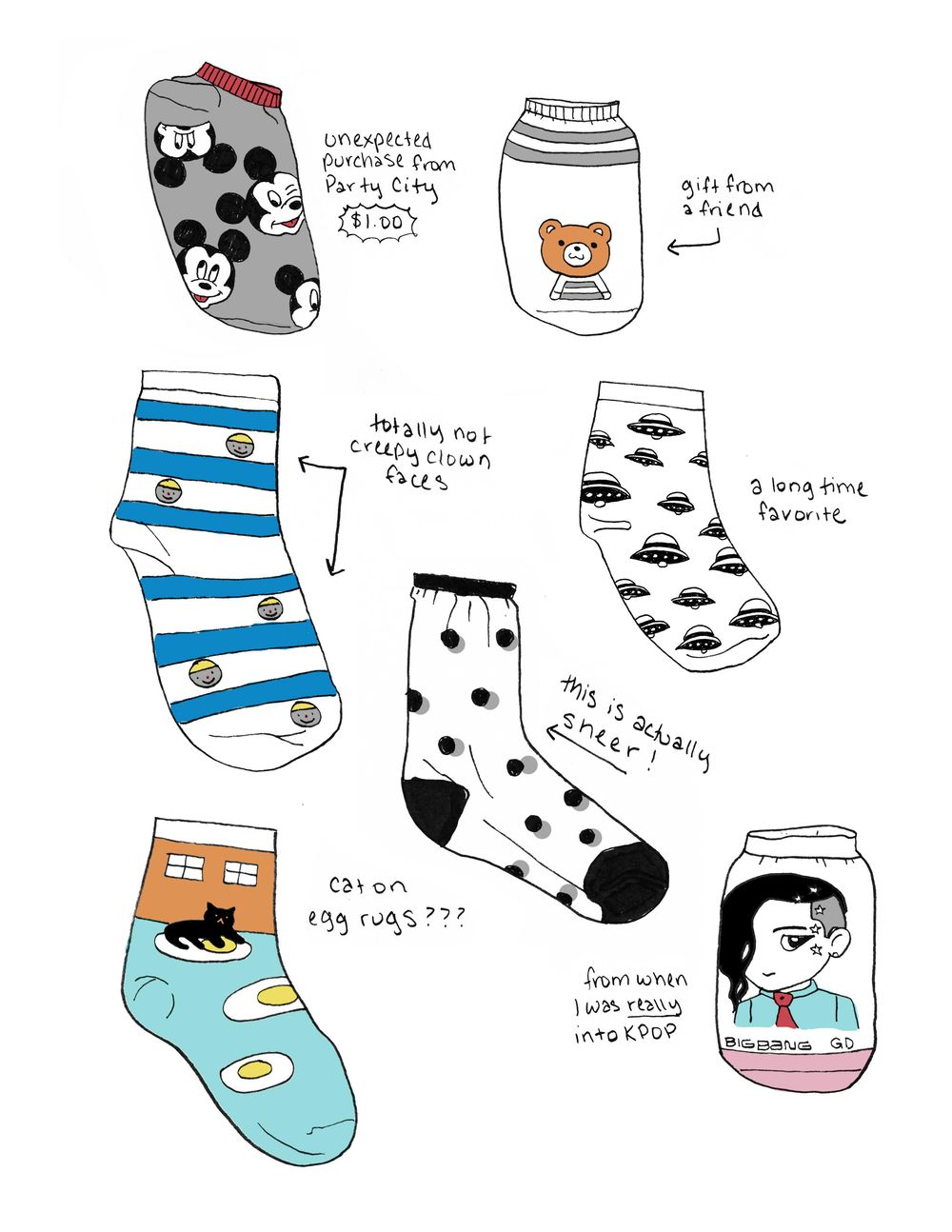 A Peek into My Sock Collection - image 1 - student project