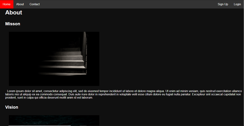 My Html Project - image 3 - student project