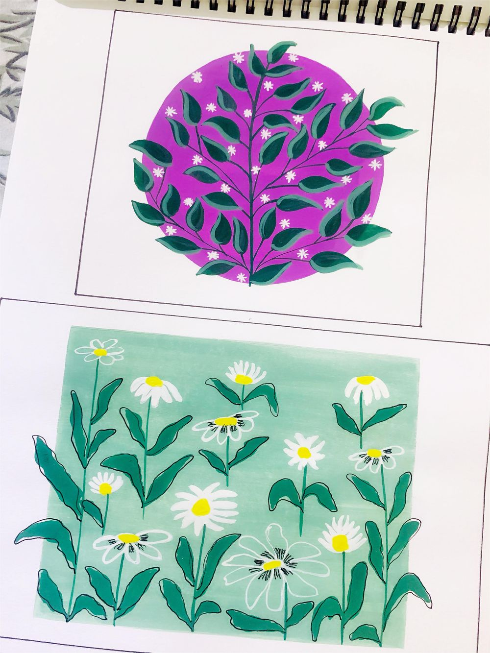Pattern Paintings - image 1 - student project