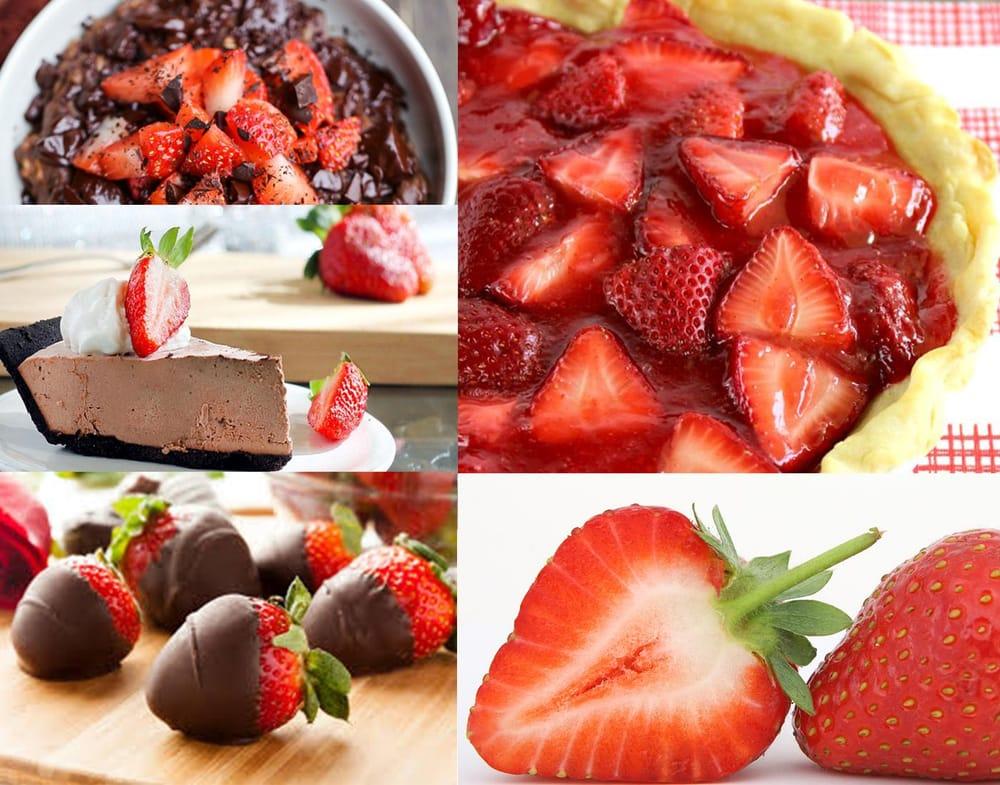 Chocolate Strawberry Truffle Pie - image 1 - student project