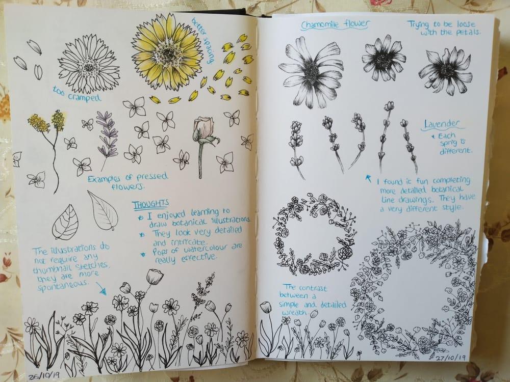 Some Sketchbook Practice - image 1 - student project