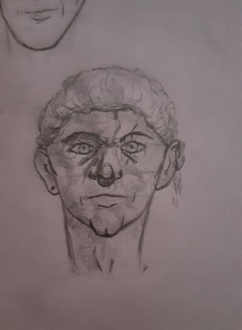 Semi self portrait - image 1 - student project