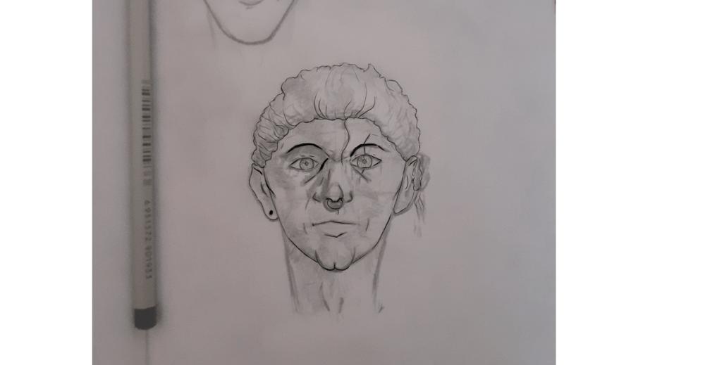 Semi self portrait - image 2 - student project